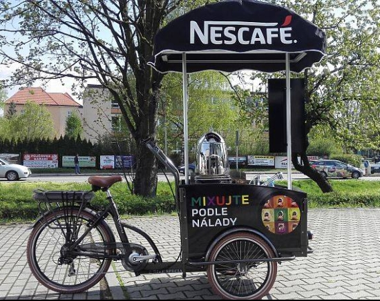 Elektrokolo s rozpustnou kávou